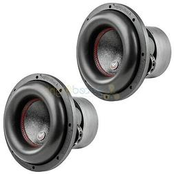"10"" Subwoofers Dual 4 Ohm 900 Watts RMS Car Audio Audiopipe"