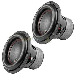 "12"" Subwoofers Dual 4 Ohm 1100 Watts Rms Car Audio Audiopipe"