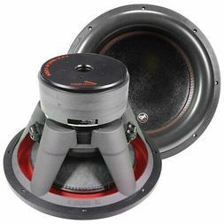 "15"" Subwoofer Dual 2 Ohm 1400 Watts RMS Car Audio Sub Audiop"