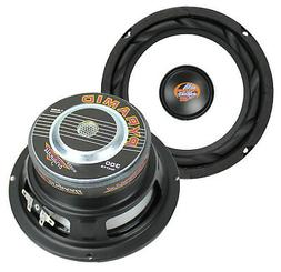 "PYRAMID WX65X 6.5"" 600 Watt Car Audio Subwoofers Subs Power"