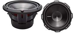 "2) ROCKFORD FOSGATE P3D4-10 10"" 2000W Car Audio Subwoofers S"