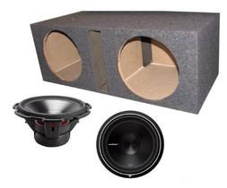 "2) ROCKFORD FOSGATE P3D4-15 15"" 1200 Watt 4-Ohm Car Audio Su"