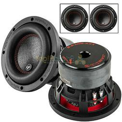 "2 Pack Audiopipe 6.5"" Subwoofers Dual 4 Ohm 500 Watts Max Au"