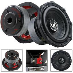 "2 Pack Audiopipe 8"" Subwoofers 500 Watts Max 4 Ohm SVC Tripl"