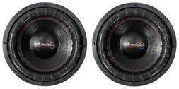 """American Bass XFL-1244 2000w 12"""" Competition Car Subwoofers"""