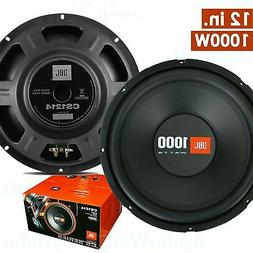 2x cs1214 12 1000 watts car audio