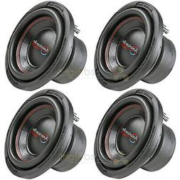 """4 American Bass 10"""" Subwoofers Dual 4 Ohm 900 Watts Max Car"""