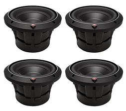 "4) ROCKFORD FOSGATE P2D2-8 8"" Punch 2000W 2-Ohm DVC Car Audi"
