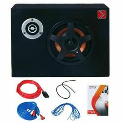 8'' Under-Seat Car Sub Woofer Modified Speaker Stereo Audio