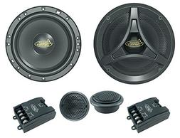 """Lanzar Upgraded 6.5"""" 2 Way Coaxial Speaker Component Syste"""