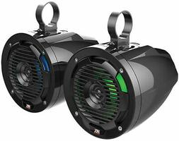 """Dual 10"""" MTX Powered Subwoofers+Enclosure Box For 02-16 Dodg"""