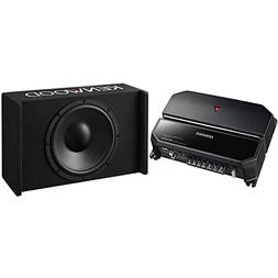 "Kenwood 12"" Enclosed Subwoofer  with Amplifier"