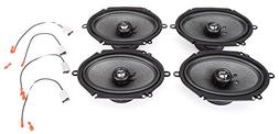 1997-1998 Ford F-750 Complete Factory Replacement Speaker Pa