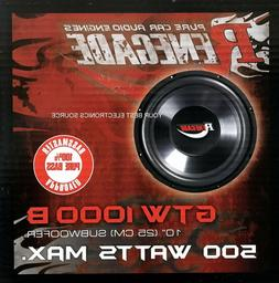 Renegade GTW1000B 10-Inch Subwoofer