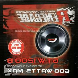 Renegade GTW1200B 12-Inch Subwoofer