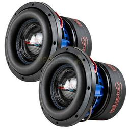 "American Bass HD-8D4 8"" Competition Subwoofers 800W Max Dual"