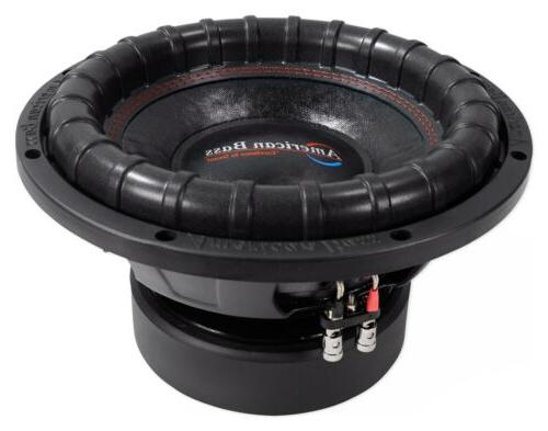 "American Bass ELITE-1244 2400w 12"" Competition Car Subwoofer"