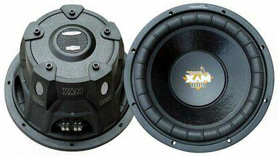 "2) LANZAR PRO MAXP84 8"" 1600W Car Power Subwoofers Audio Sub"