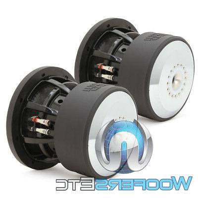 """V.3 D2 8"""" RMS DUAL BASS SPEAKERS NEW"""