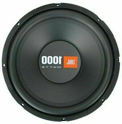 "2x JBL CS1214 12"" 1000 Car Audio Max Subwoofers Ohm SVC"