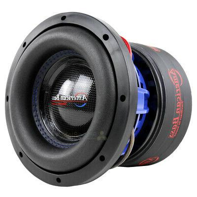 "American Bass HD-8D4 8"" Competition Subwoofer 800W Max Dual"