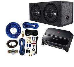 """Kenwood P-W1221 Car Audio Package with Dual 12"""", 3/4"""" MDF Se"""