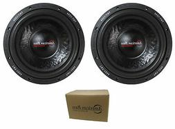 "Pair of American Bass 12"" TNT Series 2400W Dual 4 Ohm Subwoo"