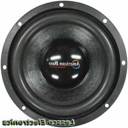 "Pair of American Bass 15"" Car SubWoofers 2000W Max 4 Ohm DVC"