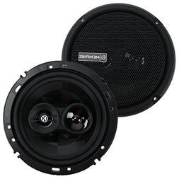 "Memphis Audio PRX603 6-1/2"" 3-Way Power Reference Coaxial Sp"