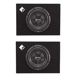 "Rockford Fosgate New R2S-1X10 10"" 400 Watts Shallow Car Subw"