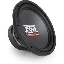 MTX RTS12-04 12-Inch Single 4-OHM Round Subwoofer