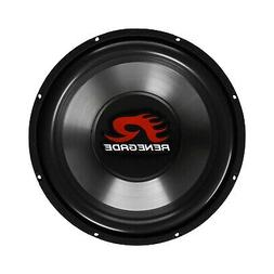 Renegade RXW1200 12-Inch SVC 4 Ohm Subwoofer