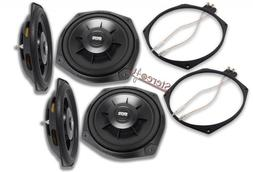 2 x Earthquake Sound SWS-8Xi Subwoofers Include Speaker Adpa