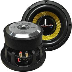 Woofer Car, 8 Inch 800w Max Competition Subwoofer Speaker Wo
