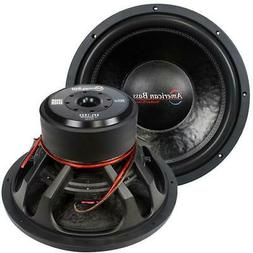 "American Bass XFL-1522 2000w 15"" Competition Car Subwoofer 3"